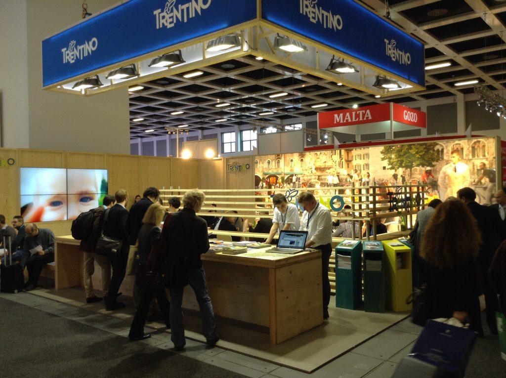 ITB2015 lo stand del Trentino