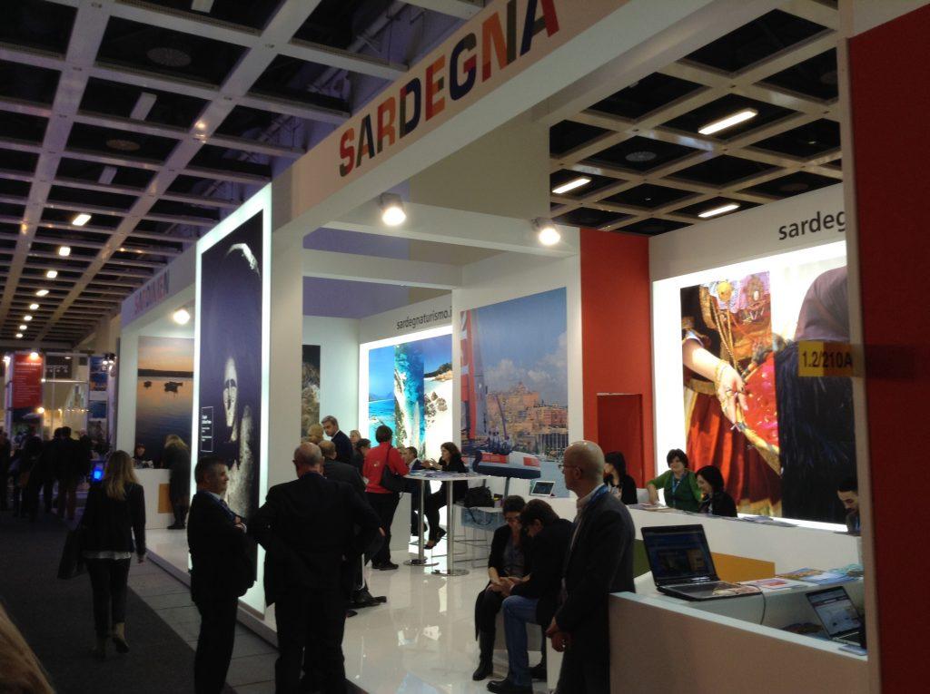 ITB2015 lo stand della Sardegna