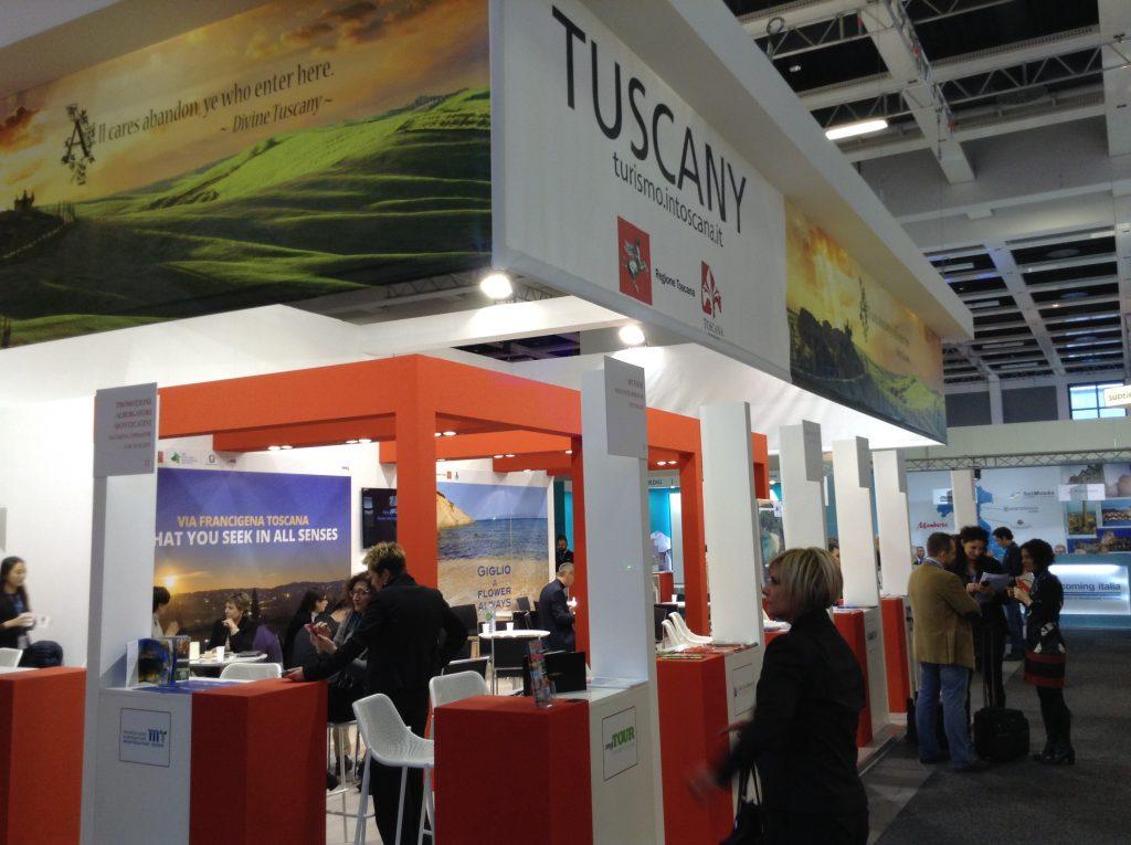 ITB2015 lo stand della Toscana