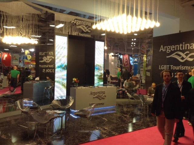 ITB2015 lo stand dell'Argentina
