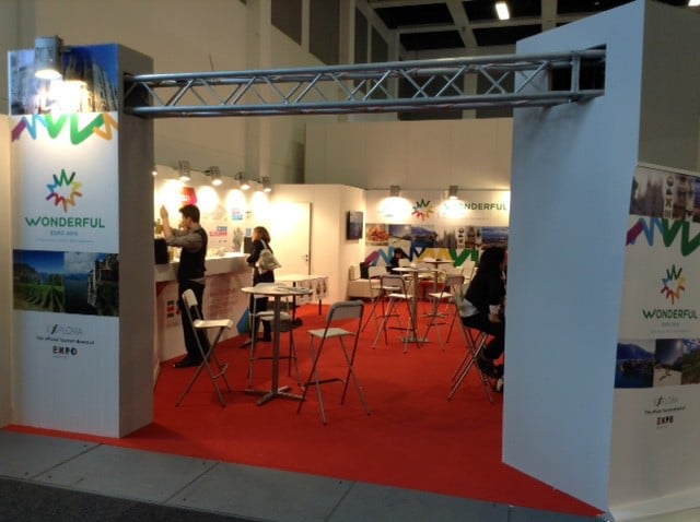 ITB2015 lo stand di Expo 2