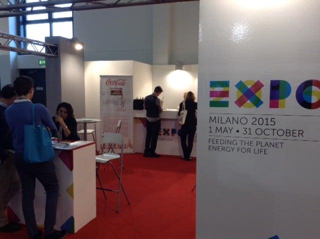ITB2015 lo stand di Expo
