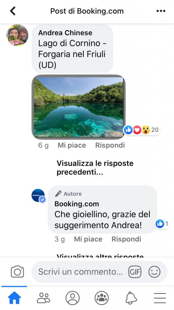 Lago di Cornino in Friuli