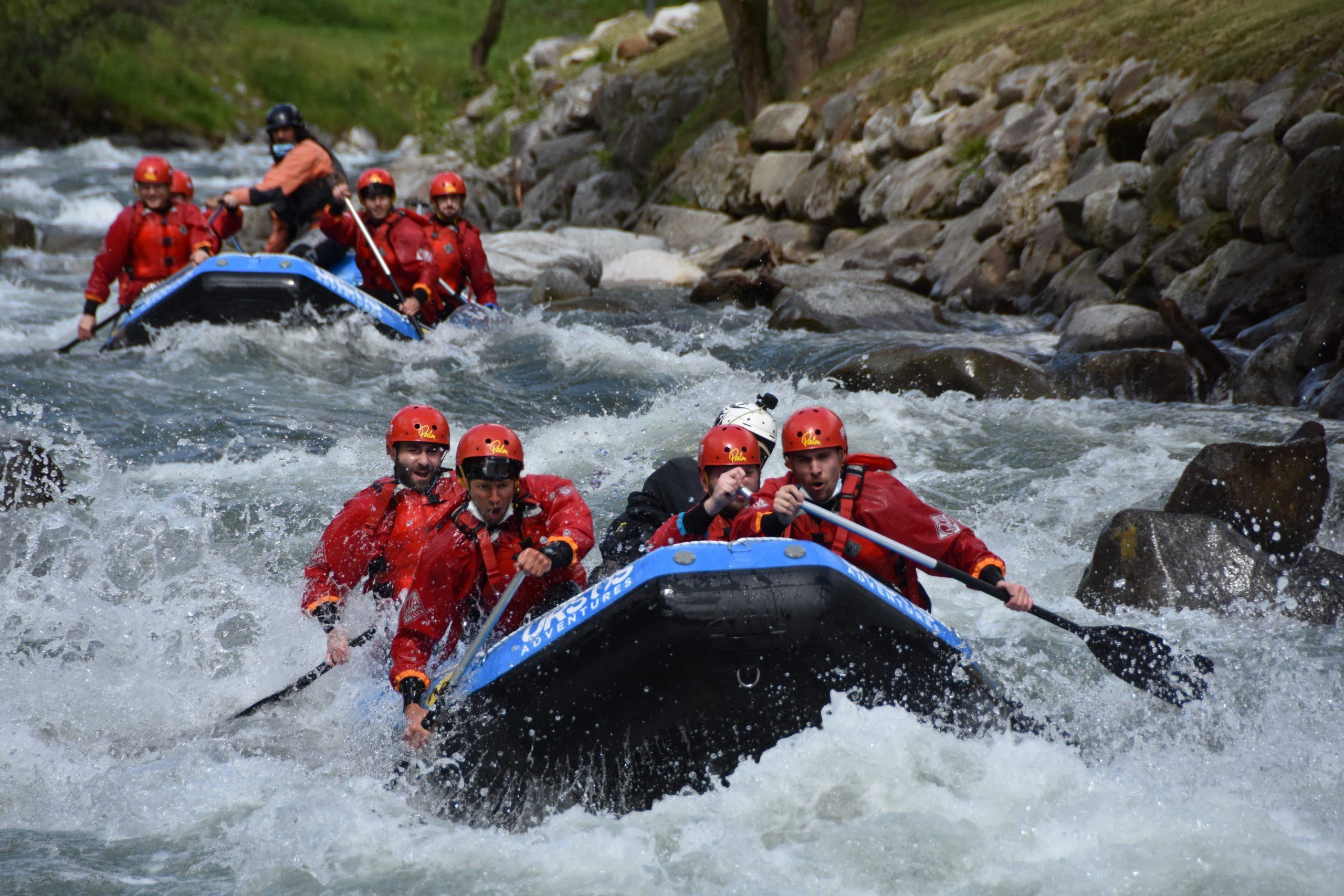 Il rafting e la scoperta delle vie d'acqua